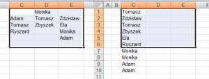XL_Przeniesienie_danych_obszaru_do_jednej_kolumny