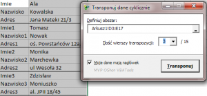 Transponuj_dane_cyklicznie