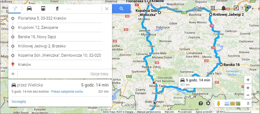 Przelicz_odleglosci_pro_mapa