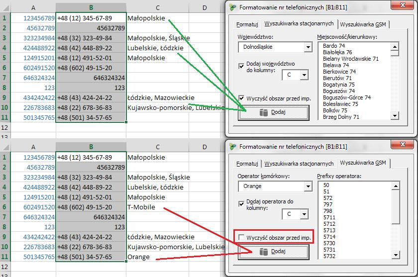 formatowanie_nr_telefonicznych_przyklad_pro